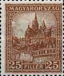 [Definitive Issue - Crown of Saint Stephen & Matthias Cathedral - Different Perforation, type JE7]