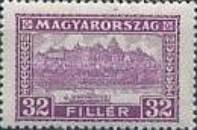 [Definitive Issues - Crown of Saint Stephen, Matthias Cathedral & Palace at Budapest, type JI]