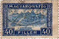 [Definitive Issues - Crown of Saint Stephen, Matthias Cathedral & Palace at Budapest, type JI1]