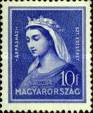 [The 700th Anniversary of the Death of St. Elizabeth, 1207-1231, Typ LP]