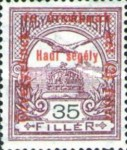 [Turul over Crown of Saint Stephen & King Franz Joseph - Stamps of 1913 Overprinted and Surcharged, type M11]