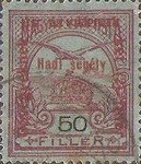 [Turul over Crown of Saint Stephen & King Franz Joseph - Stamps of 1913 Overprinted and Surcharged, type M12]