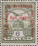 [Turul over Crown of Saint Stephen & King Franz Joseph - Stamps of 1913 Overprinted and Surcharged, type M4]