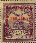 [Turul over Crown of Saint Stephen & King Franz Joseph - Stamps of 1913 Overprinted and Surcharged, type M6]