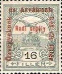 [Turul over Crown of Saint Stephen & King Franz Joseph - Stamps of 1913 Overprinted and Surcharged, type M7]