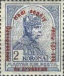 [Turul over Crown of Saint Stephen & King Franz Joseph - Stamps of 1913 Overprinted and Surcharged, type N1]