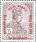 [Turul over Crown of Saint Stephen & King Franz Joseph - Stamps of 1913 Overprinted and Surcharged, type N2]