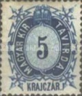 [Telegraph Stamps - New Perforation, Typ A6]