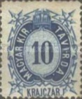 [Telegraph Stamps - New Perforation, Typ A7]