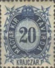 [Telegraph Stamps - New Perforation, Typ A8]
