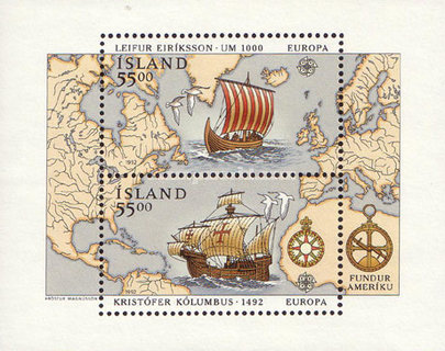[EUROPA Stamps - Voyages of Discovery in America - The 500th Anniversary of the Arrival of Columbus to America, Typ ]