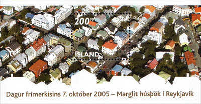 [Day of the Stamp - Aerial View of Reykjavik, тип ]