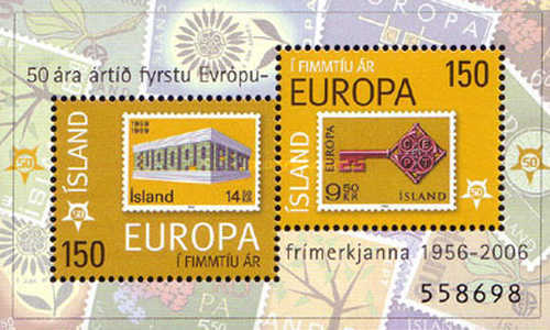 [The 50th Anniversary of the Europa Stamps, Typ ]