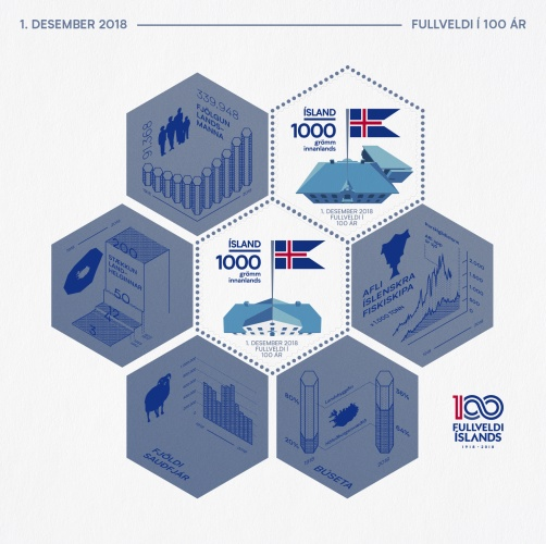 [The 100th Anniversary of Icelandic Independence and Sovereignty, Typ ]