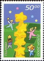 [EUROPA Stamps - Tower of 6 Stars, type AAC]
