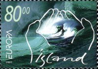 [EUROPA Stamps - Water, Treasure of Nature, type ABD]