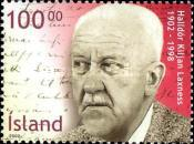 [The 100th anniversary of the Birth of Nobel Prize Winner Halldor Laxness, Typ ABY]