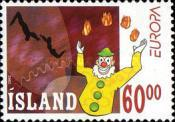 [EUROPA Stamps - The Circus, Typ ACE]