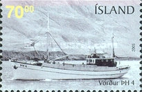 [Old Fishing Boats - Imperforated on 1 or 2 sides, тип AFN]