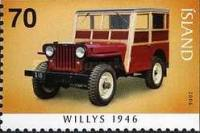 [The First Jeeps - Imperforated on 1 or 2 sides, Typ AGO]