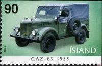 [The First Jeeps - Imperforated on 1 or 2 sides, Typ AGQ]
