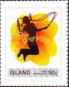 [The Official Personal Stamp of Iceland Post Ltd, Typ AJE]