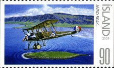 [Civil Aviation in Iceland - Imperforated on 1 or 2 Sides, Typ AKB]
