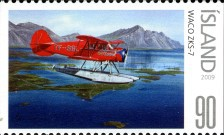 [Civil Aviation in Iceland - Imperforated on 1 or 2 Sides, Typ AKC]