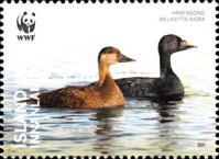 [World Wildlife Fund - Endangered Ducks, type AMS]