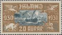 [Airmail - The 1000th Anniversary of the Althing, Typ AO]