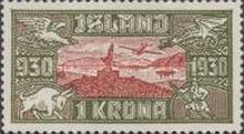 [Airmail - The 1000th Anniversary of the Althing, Typ AR]