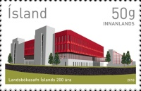 [The 200th Anniversary of the National Library of Iceland, Typ AVX]