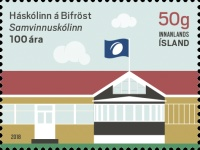 [The 100th Anniversary of the Bifröst University/Cooperative College, Typ AWN]