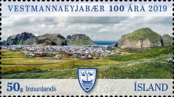 [The 100th Anniversary of the Town of Vestmannaeyjar, type AXC]