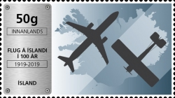 [The 100th Anniversary of Aviation in Iceland, type AXM]