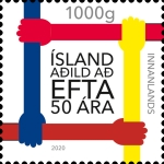 [The 50th Anniversary of Icelandic Membership of the EFTA, Typ AXY]