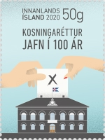 [The 100th Anniversary of Equal Voting Rights, type AYB]
