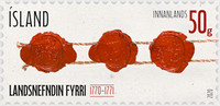 [The 250th Anniversary of the Icelandic Land Commission, Typ AYM]