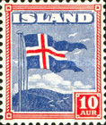 [The Icelandic Flag, type BU]