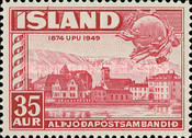 [The 75th Anniversary of the Universal Postal Union, Typ CO]