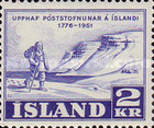 [The 175th Anniversary of the Iceland Post Service, type CW]