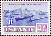 [The 175th Anniversary of Reykjavik, type FB1]