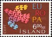 [EUROPA Stamps, Typ FC1]