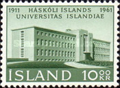 [The 50th Anniversary of the University of Iceland, type FF]