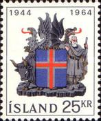 [The 20th Anniversary of the Republic of Iceland, type FV]