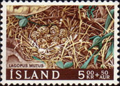 [Charity Stamps - Birds Nest, type GX]