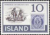 [The 100th Anniversary of Icelandic Stamps, Typ IR]