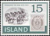 [The 100th Anniversary of Icelandic Stamps, Typ IS]