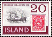 [The 100th Anniversary of Icelandic Stamps, Typ IT]