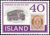 [The 100th Anniversary of Icelandic Stamps, Typ IU]